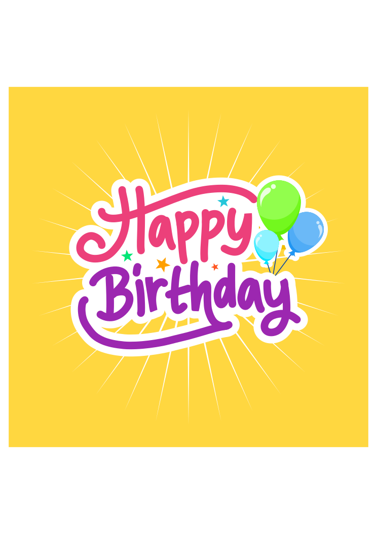 Happy Birthday Clipart Free Svg Cutting File Svgheart Com